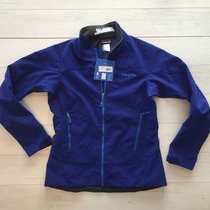 Patagonia Women Adze Polartec Jacket NWT Sz M Blue